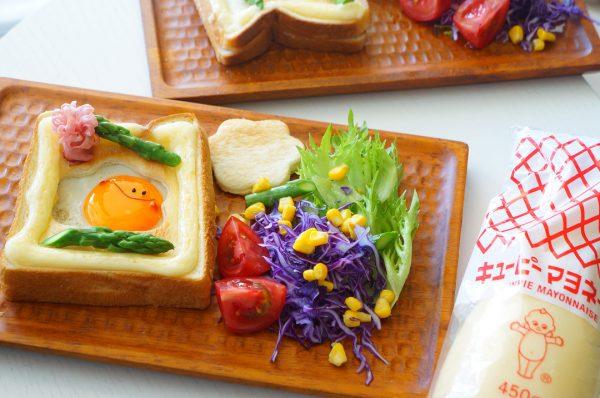 パンの美味しい朝食2