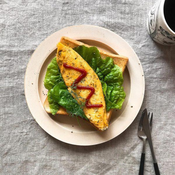 パンの美味しい朝食4