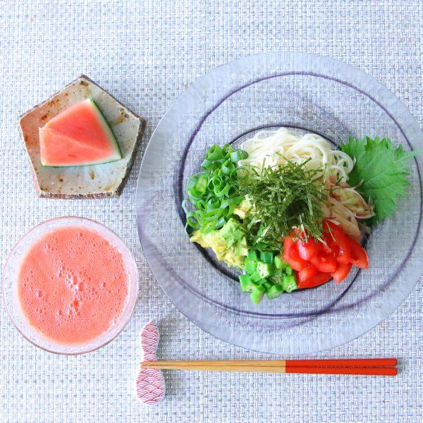 暑い日の夕飯14