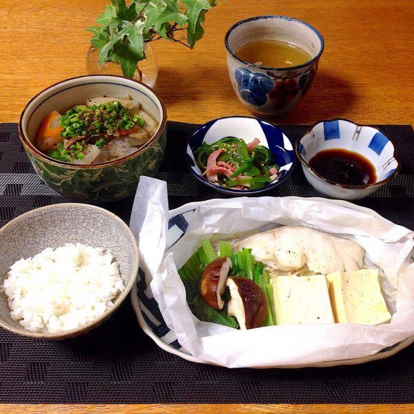 暑い日の夕飯10