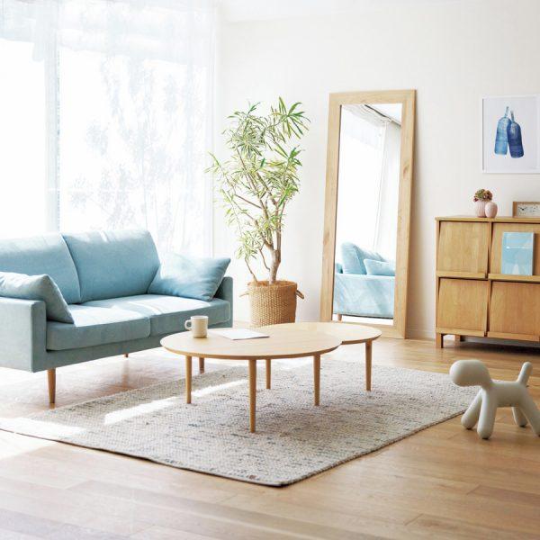 木のソファー18