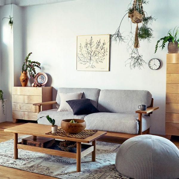 木のソファー4