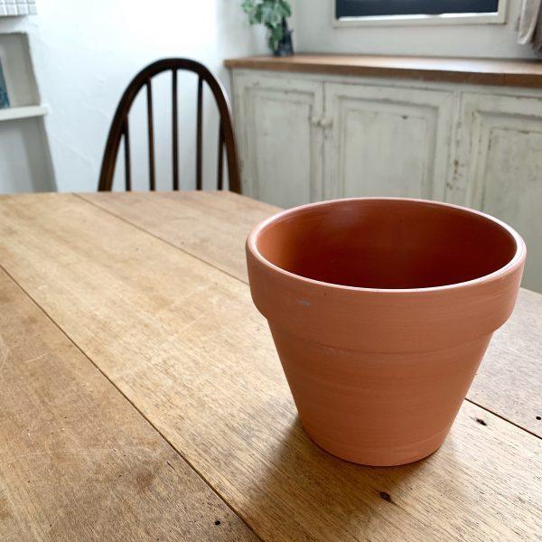 素焼きの鉢をペイントリメイク