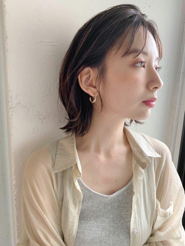 ゆるふわパーマ×ボブ【前髪あり】3