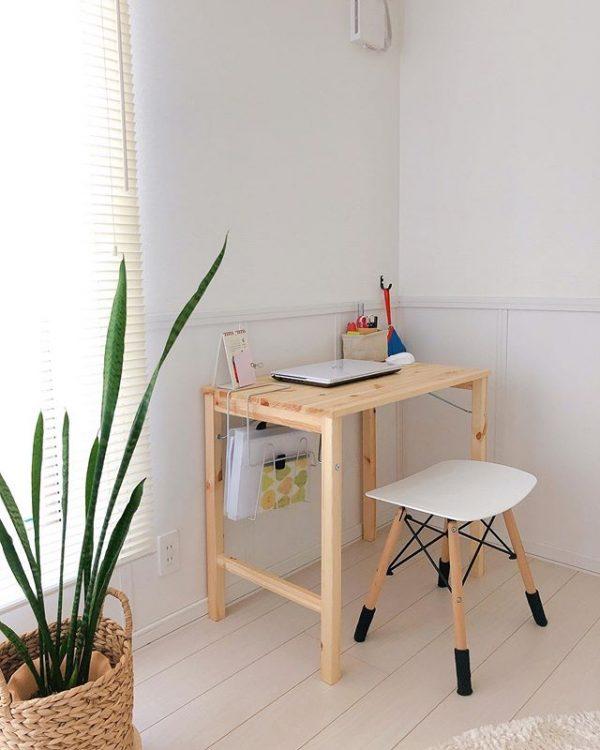 木×アイアンの家具で、統一感のあるリビング22