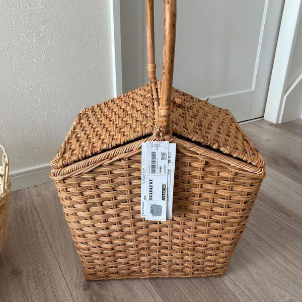 IKEA新商品の使える保冷バスケット