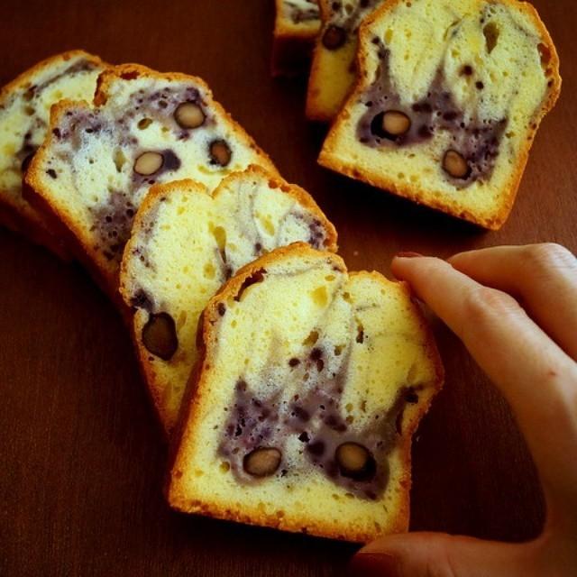 パウンドケーキの人気アレンジレシピ《和風》3