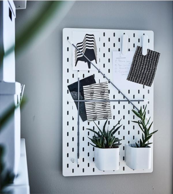 IKEA新商品のおしゃれで使える有孔ボード