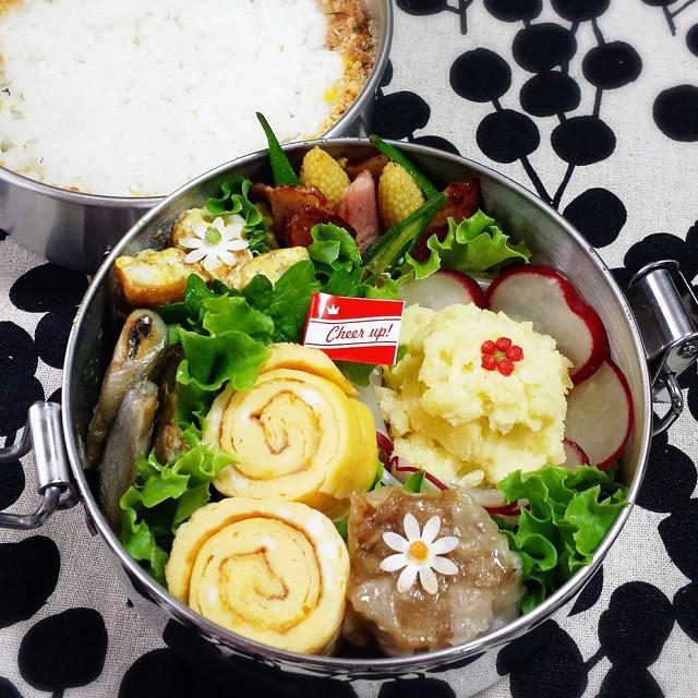 卵焼きの人気アレンジレシピ☆お弁当12