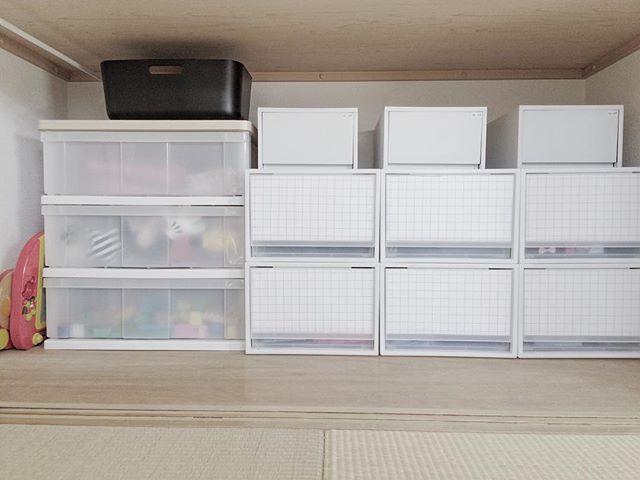 収納グッズを組み合わせてわかりやすい収納