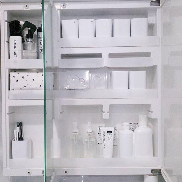 シンデレラフィット収納のコツ《洗面所》4