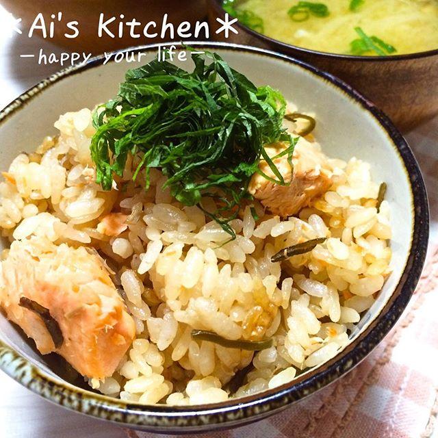 炊き込みご飯の簡単アレンジレシピ☆主食11