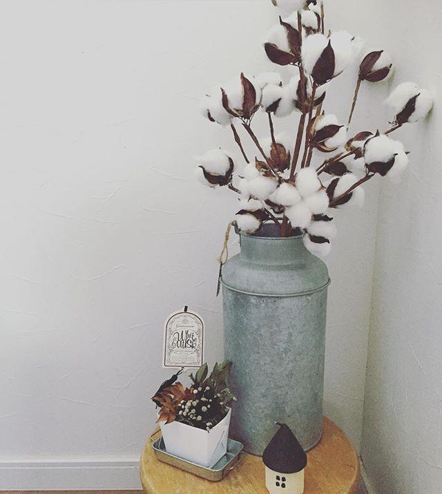 秋におすすめの枝物のインテリア4