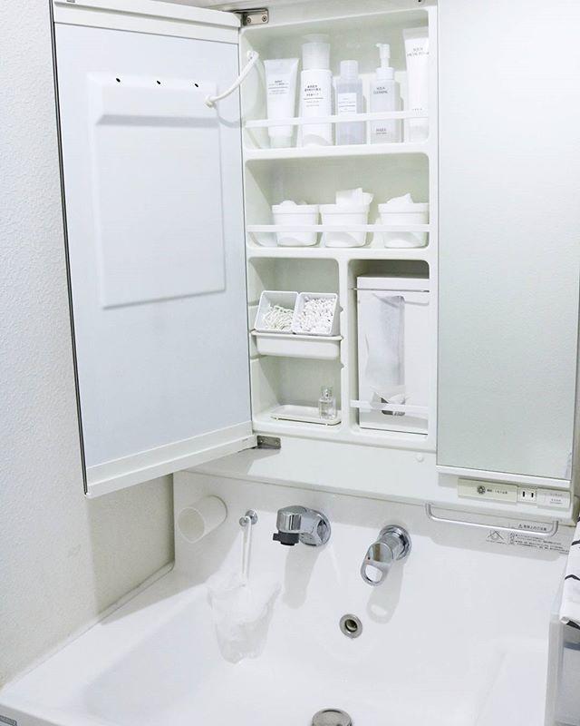 清潔感も兼ね備えた収納アイデア