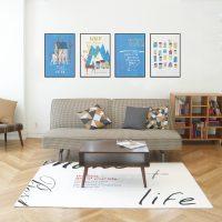 簡単アレンジでお部屋の雰囲気を一新!壁飾りアイデアのまとめ