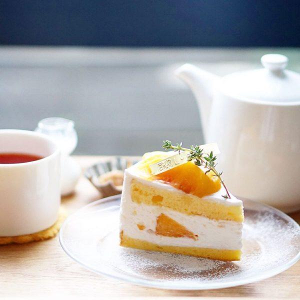 黄桃スイーツの人気レシピ!ショートケーキ