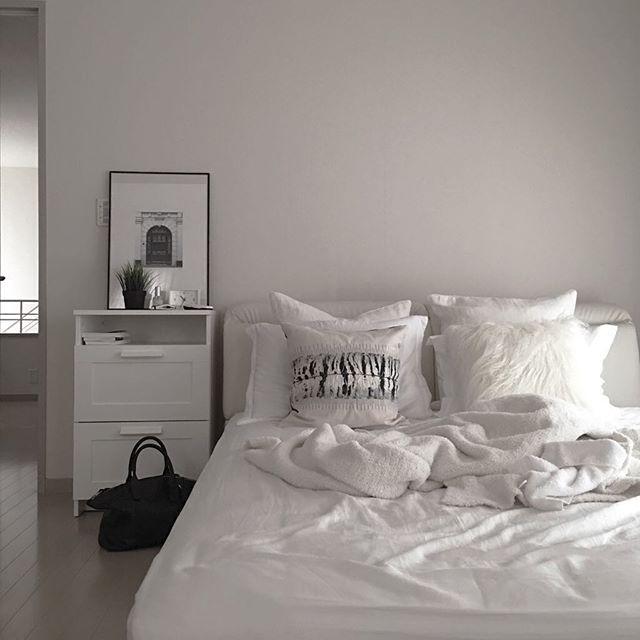 夏 ベッドルーム インテリア
