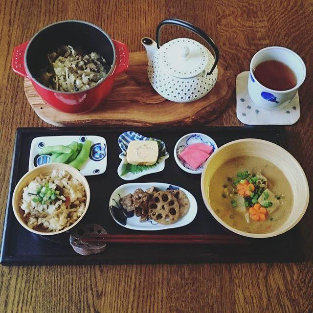 炊き込みご飯の簡単アレンジレシピ☆主食10