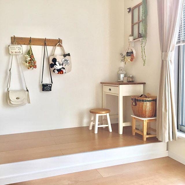 【壁】吊るす収納に使える小物やアイデア