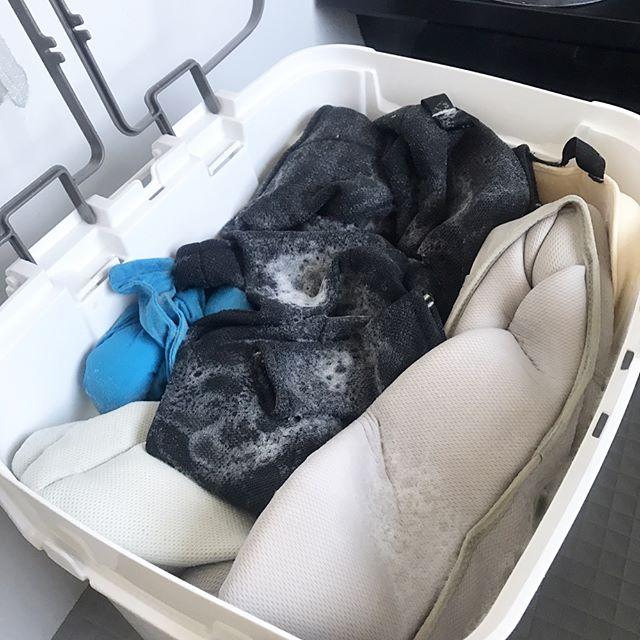 掃除に役立つオキシクリーン活用術《衣類》4