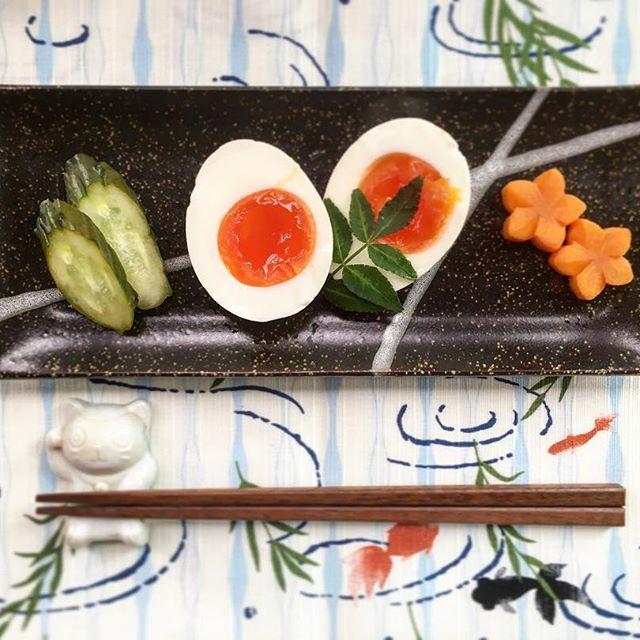 日本酒のおつまみに!ゆで卵のぬか漬け