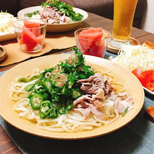 さっぱり食べたい時の夕飯メニュー☆主食3