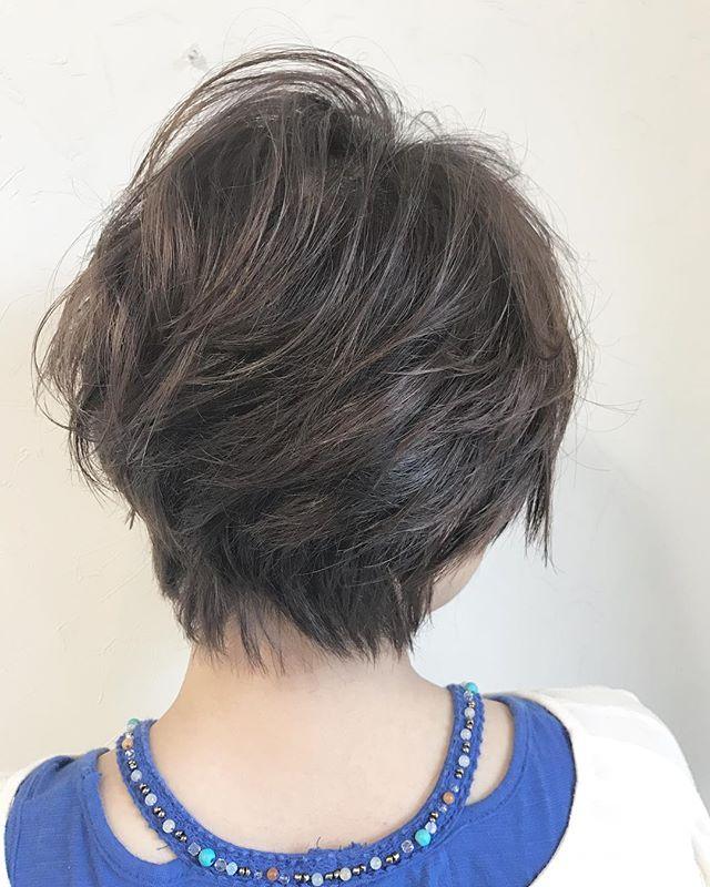 ショートヘアに合う春の髪色4
