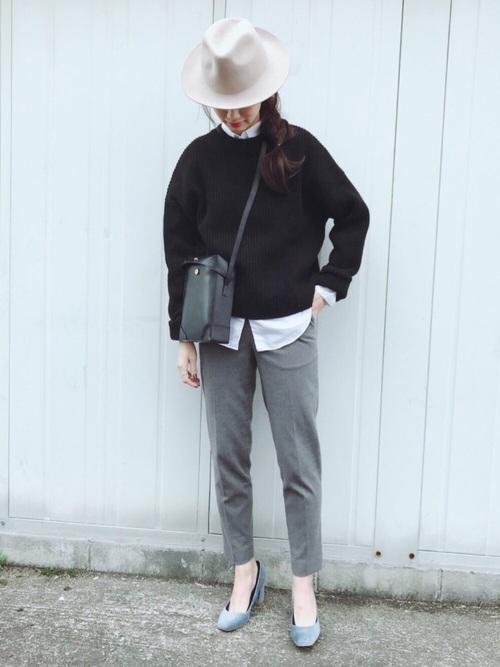 【2020】秋の帽子コーデ《ハット》5