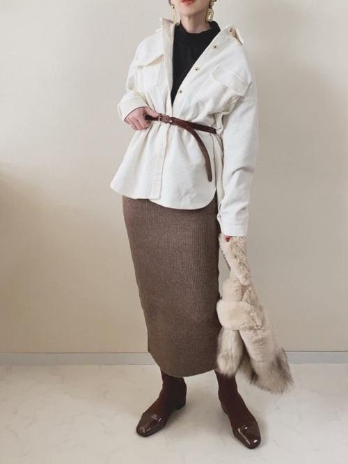 11月の東京で着たい服装|スカートスタイル6