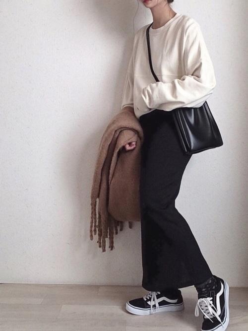 【北海道】10月におすすめの服装《スカート》16
