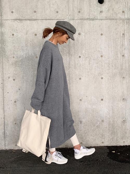 【2020】秋の帽子コーデ《キャスケット》2