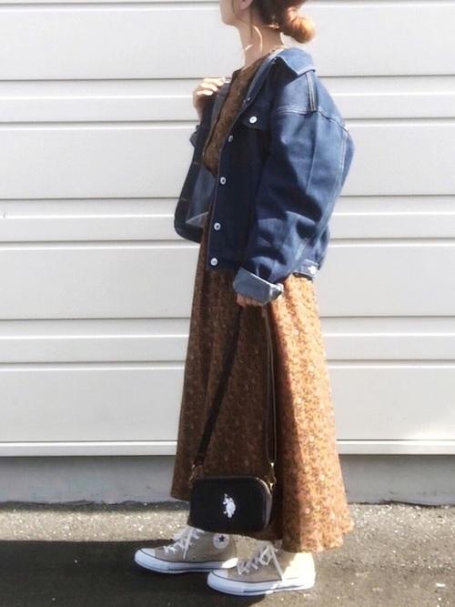 【北海道】10月におすすめの服装《ワンピ》
