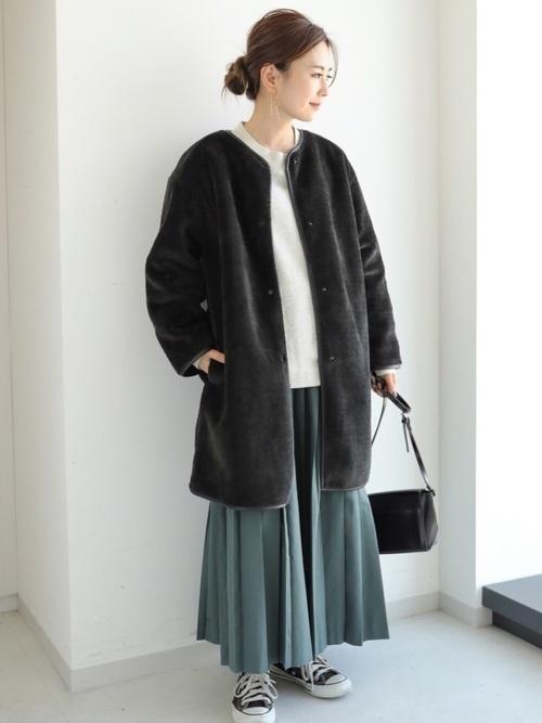 【北海道】10月におすすめの服装《スカート》10