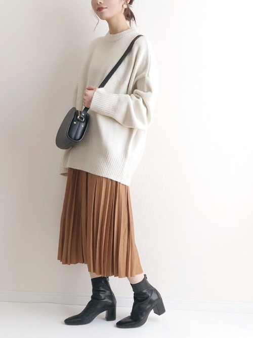 【北海道】10月におすすめの服装《スカート》12