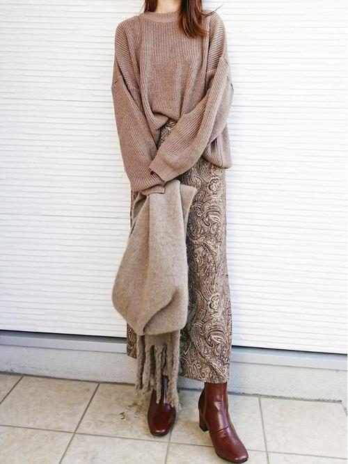 【北海道】10月におすすめの服装《スカート》17