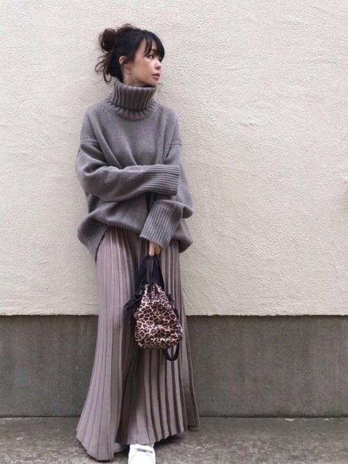 11月の東京で着たい服装 スカートスタイル5