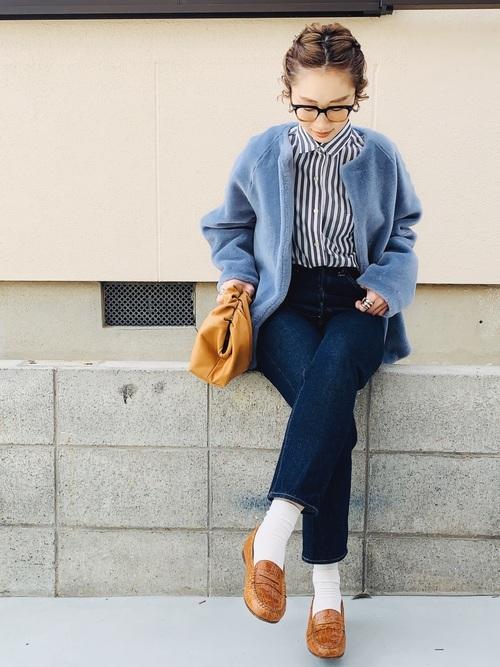 11月の東京で着たい服装 パンツスタイル4