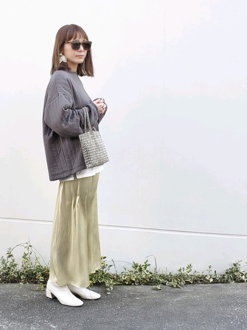 11月の東京で着たい服装|スカートスタイル2