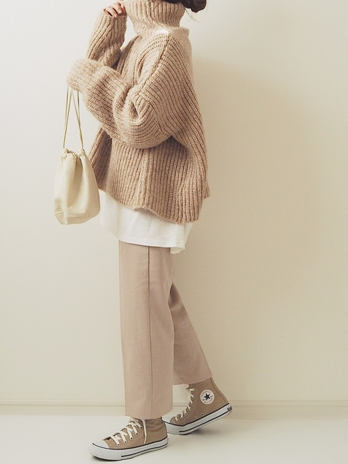 11月の東京で着たい服装|パンツスタイル3