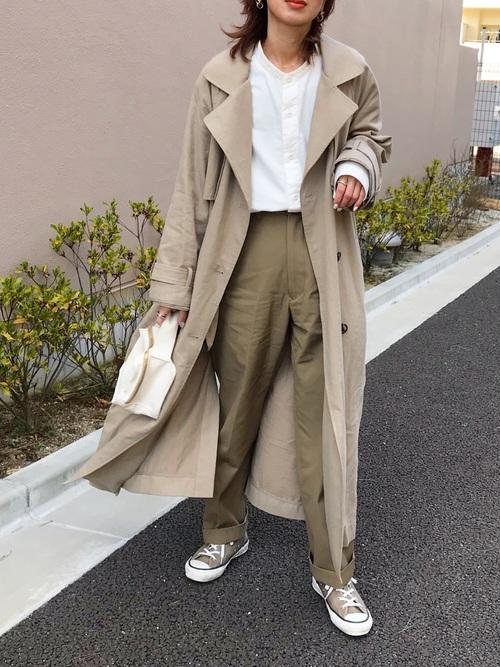 【2020】40代女性の秋のスニーカーコーデ特集15