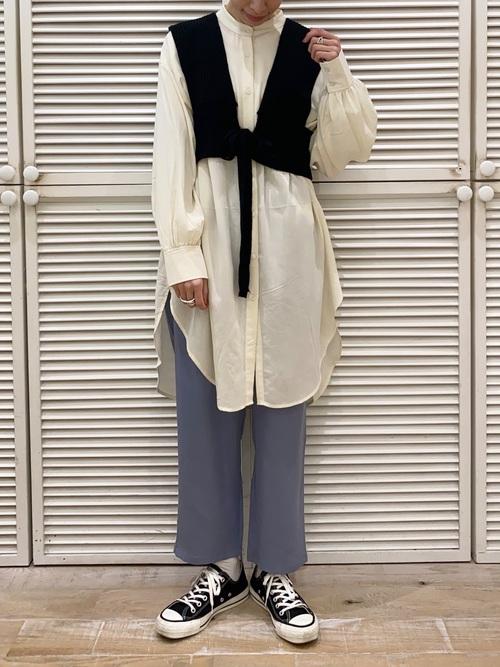 福岡 10月 服装 パンツ2