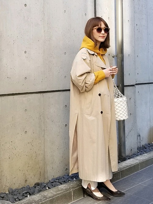 11月の東京で着たい服装 パンツスタイル