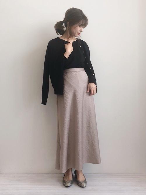 福岡 10月 服装 スカート4