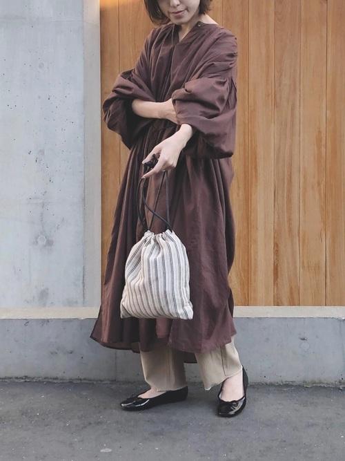 福岡 10月 服装 ワンピース