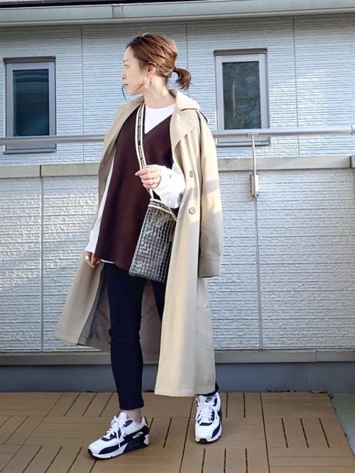 【2020】40代女性の秋のスニーカーコーデ特集2