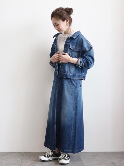 [AMERICAN HOLIC] 【2020SS】Aラインフレアスカート *