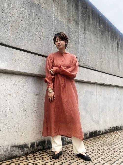 福岡 10月 服装 ワンピース2