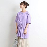 紫のTシャツコーデ特集【2020】おしゃれ上手な大人女性の着こなしをご紹介!