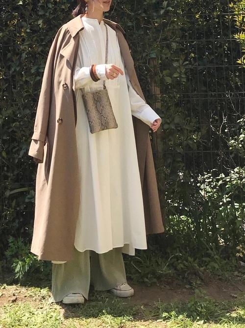 【北海道】10月におすすめの服装《ワンピ》2