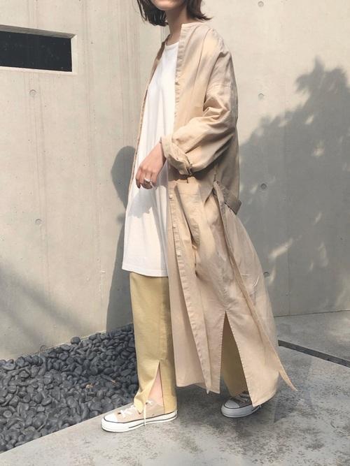 福岡 10月 服装 パンツ9